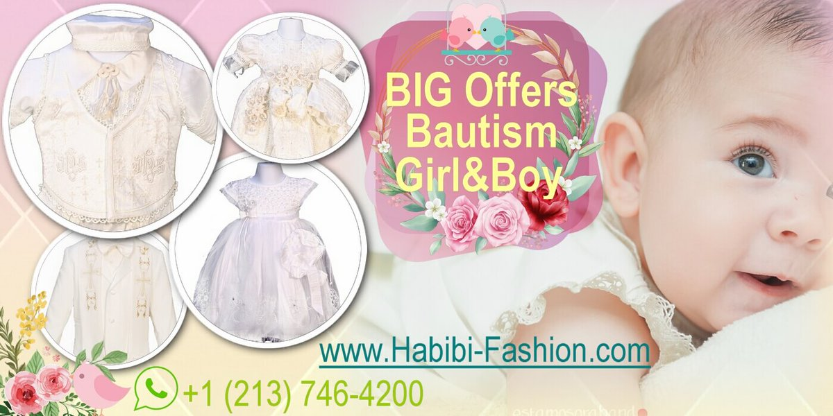 We have the best and most exclusive #designs for that #specialparty. #Marriages, #Baptism, #Fifteenyears, #Ceremonies, #communion... All in haute couture.   In HABIBI FASHION you will find it!  213-746-4200 http://www.habibi-fashion.com  #fashion #wholesale #hautecouture pic.twitter.com/aAuwWuK9a2