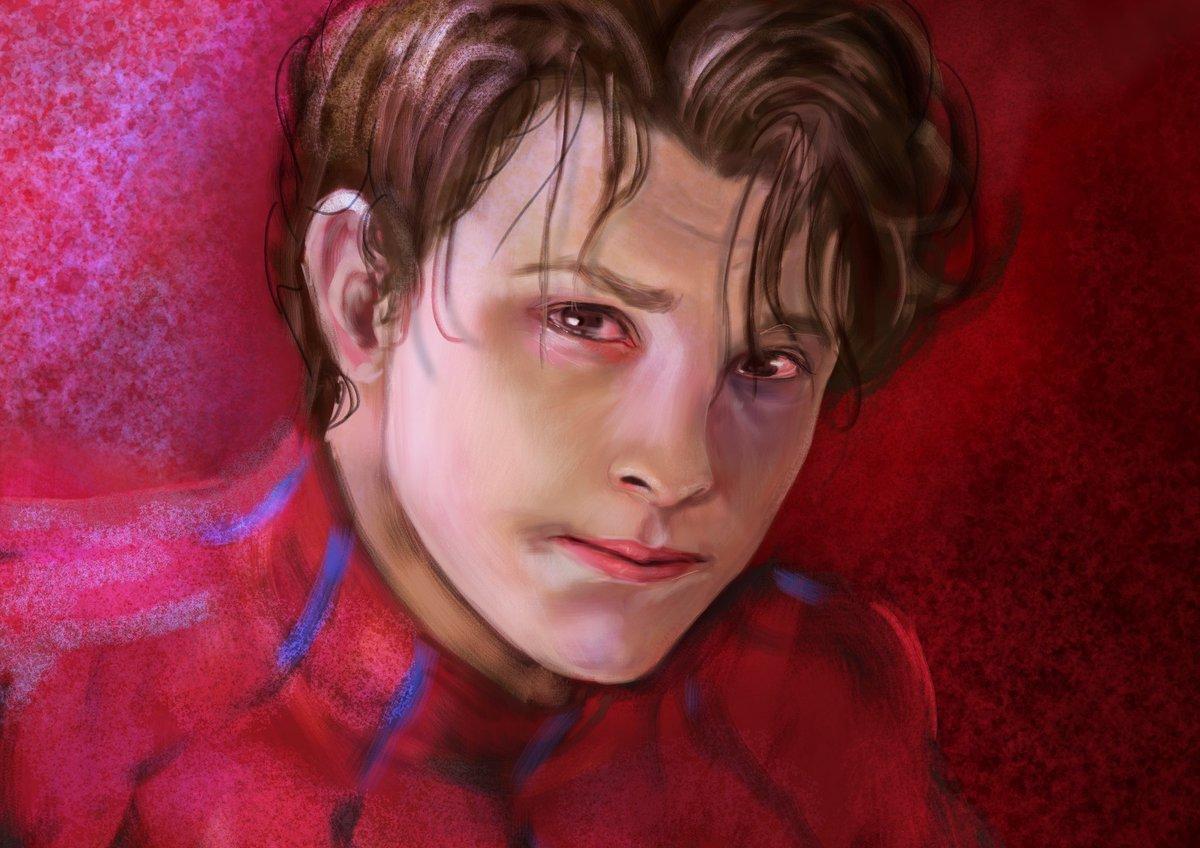 My old fanart in 2019😁  #art #fanart #drawing  #TomHolland #Marvel #SpiderMan #CaptainAmerica