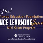 Image for the Tweet beginning: #DistanceLearning Innovation Mini-Grant program applications