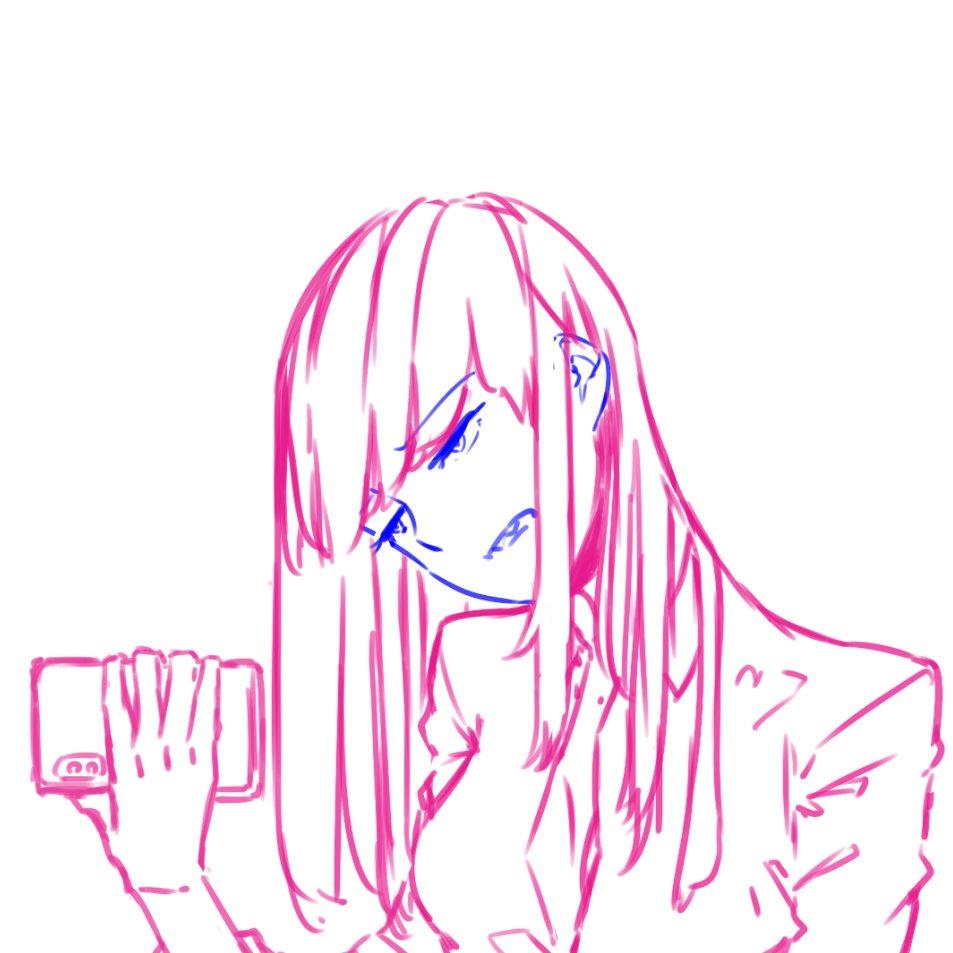 [らくがき]  #rakugaki #らくがき #illust #drawing #artwork #イラスト - おおしまやすゆきのポイピク