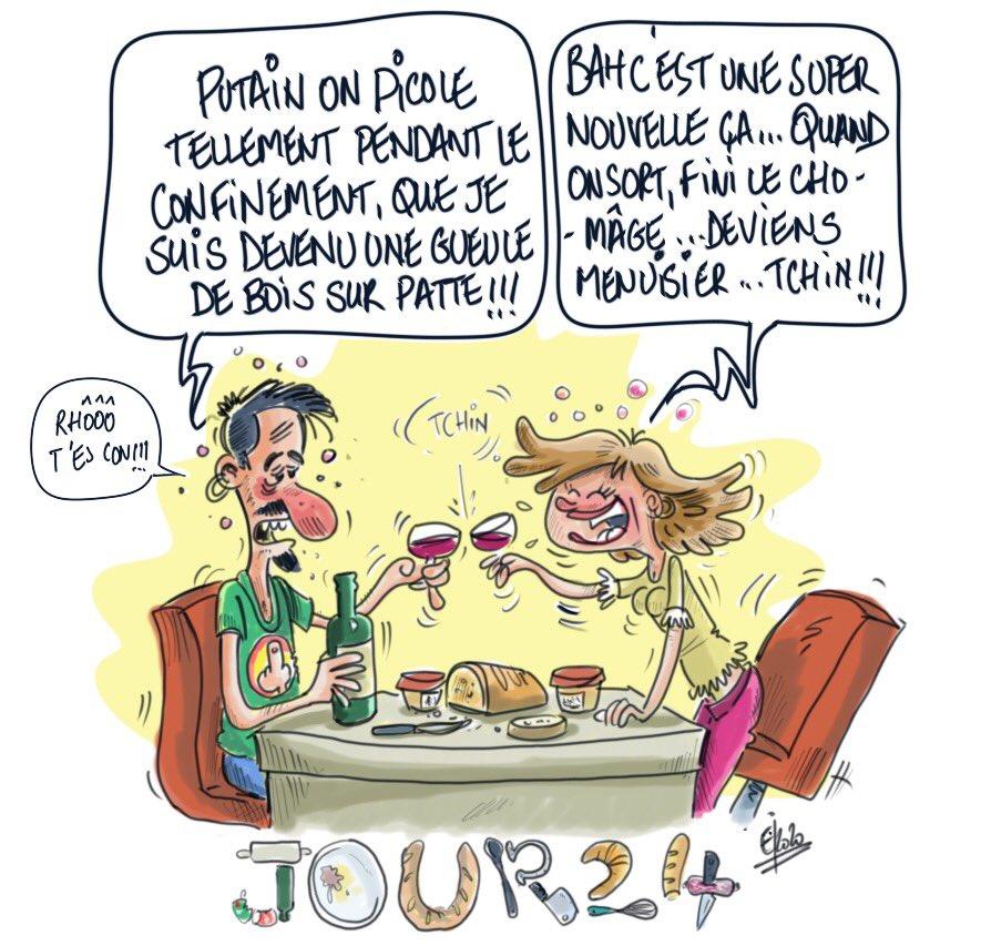 Un peu d humour ne nuit pas 😂 #dessindujour #drawing #draw #confinement