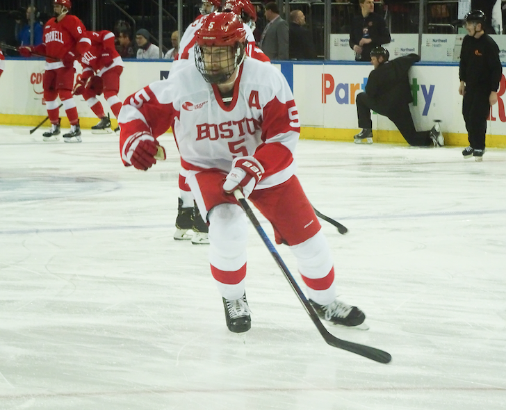 .@TerrierHockey rising senior defenseman Cam Crotty inked his entry-level contract with the Arizona Coyotes earlier today. More in my latest for @BOShockeyblog: hockey.dailyfreepress.com/2020/04/09/cam…