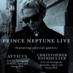 Image for the Tweet beginning: Prince Neptune live with @AtticusPoetry