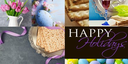 This year celebrations will feel very different as all of us find ways to celebrate virtually, but it's crucial we continue to follow these rules for safety. May this #Passover & #Easter be filled with peace, prosperity & all the joys of the holidays for you & your family. https://t.co/PdK2cN3mvM