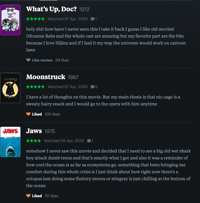 just learned that @benhosley is reviewing again on letterboxd