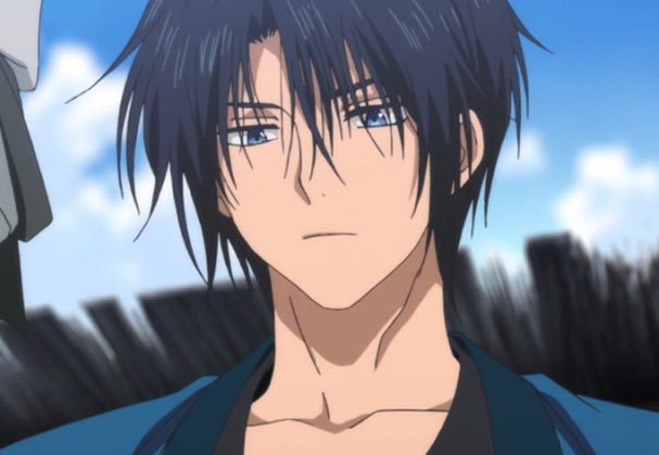 The Best Anime Black Hair Boy With Blue Eyes Pictures