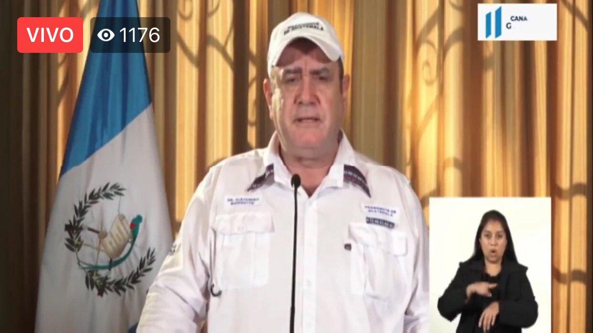 test Twitter Media - #AHORA El Presidente Alejandro Giammattei dijo que el total de casos en el día es de 31, incluyendo los ocho reportados en la mañana. https://t.co/pyTx4SAgTh