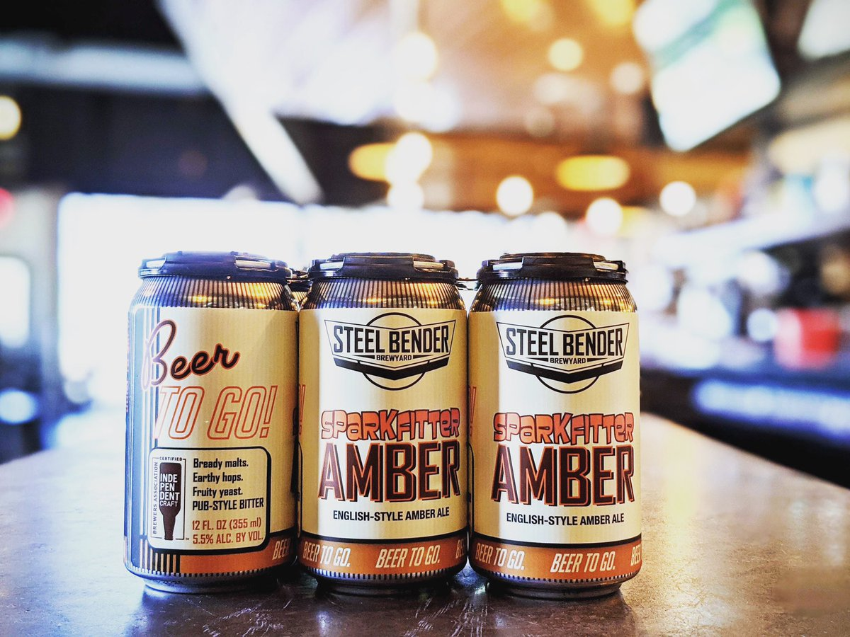 The very first beer we brewed is now available in 12-oz. 6-packs...take some Sparkfitter Amber TO GO!⠀⠀ Visit our website to place your order. https://t.co/puvhKxAqJZ #strongerthansteel #staystrongNM #builttobrew #supportlocal https://t.co/WVru6UBwa6