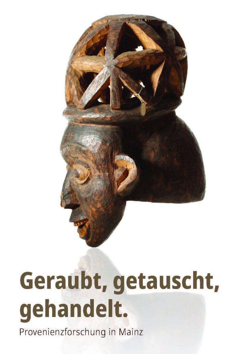 https://www.facebook.com/Landesmuseum.Mainz/posts/4322514537774513… // #GeraubtGetauschtGehandelt Heute stellt das Landesmuseum Mainz die Kamerun-Sammlung am @ifeasmainz der @uni_mainz vor. #TagderProvenienzforschung // © Thomas Hartmann, @UBMainz  // Gestaltung: @artefontpic.twitter.com/rrDoL3iro5
