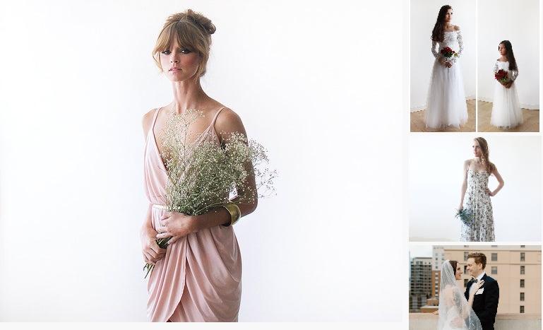 SALE Blush Pink Mini Wrap Bridesmaids Dress https://etsy.me/3aXo0gB #clothing #women #dress @EtsyMktgTool #formaldress #bridesmaiddressespic.twitter.com/0R9fiDuROh
