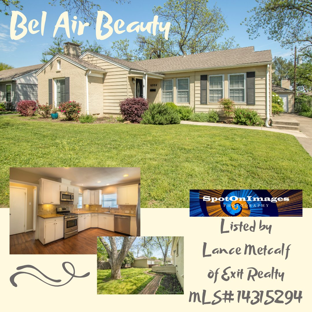 This one is so good it already has a contingent offer on it. Just listed by Lance Metcalf of Exit Realty, the recently remodeled home is a real charmer, all fixed up with the latest touches.  Great backyard, too!  For more Information contact Lance.   #realestate #photographypic.twitter.com/RE2tZeIRo3
