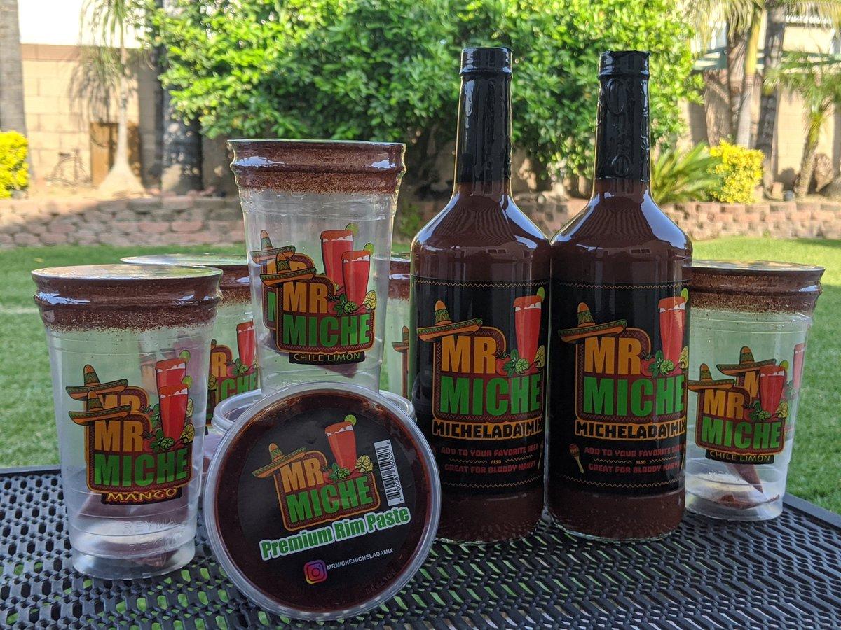 I've got your Miche needs!!! #michelada #MrMicheladaMixpic.twitter.com/bEBDK5gfXd