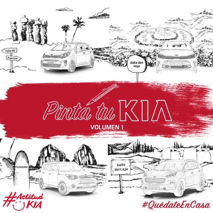 Un fin de semana largo es motivo para pasear, esta vez como debemos quedarnos en casa y queremos que no dejes de viajar... 🚘  Te invitamos a colorear y recorrer Chile descargando #PintaTuKia Nº1 aquí 👉🏻 https://t.co/qJeFtAFEmO  Pinta #KiaXChile y #QuédateEnCasa https://t.co/TODzyJxItR