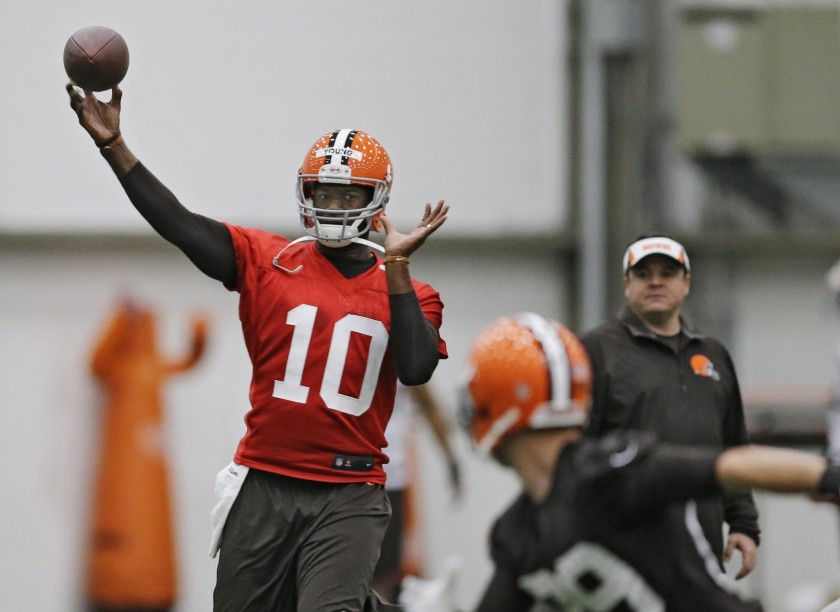 Browns legend Vince Young