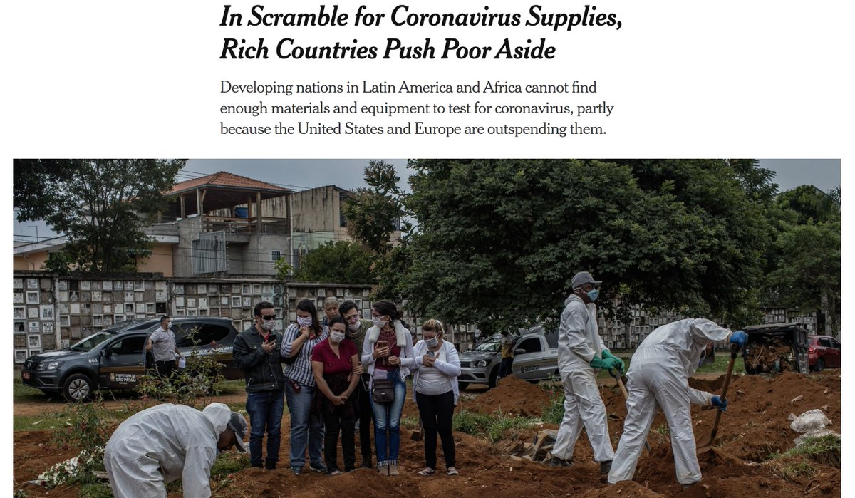 ... the #coronavirus pandemic is leading to economic injustice on a macro scale.  more from @nytimes: https://nyti.ms/2VuDylBpic.twitter.com/WW1IVYxL6u