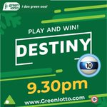 Image for the Tweet beginning: DESTINY  DATE: 09/04/2020 TIME: 09:30 PM  WINNING NUMBERS-
