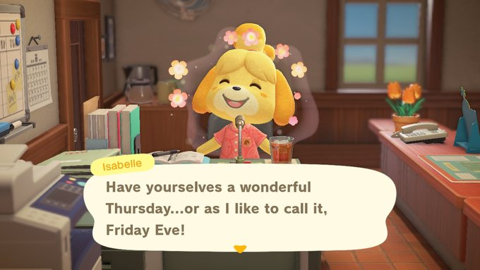 happy fridays eve friends #AnimalCrossing #ACNH