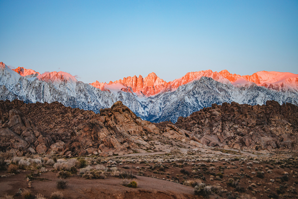 #Desert Layers || Alabama Hills, CA [OC] [6720x4480] #travel #earth