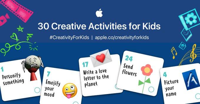 Apple Creativity Worksheet
