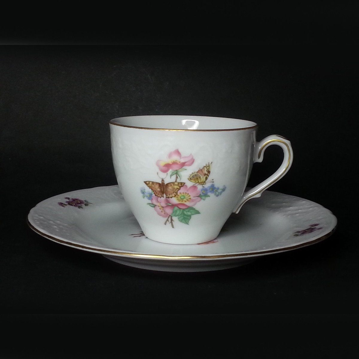Sale $10.62  Christineholm #porcelain #coffee Cup with Bread an