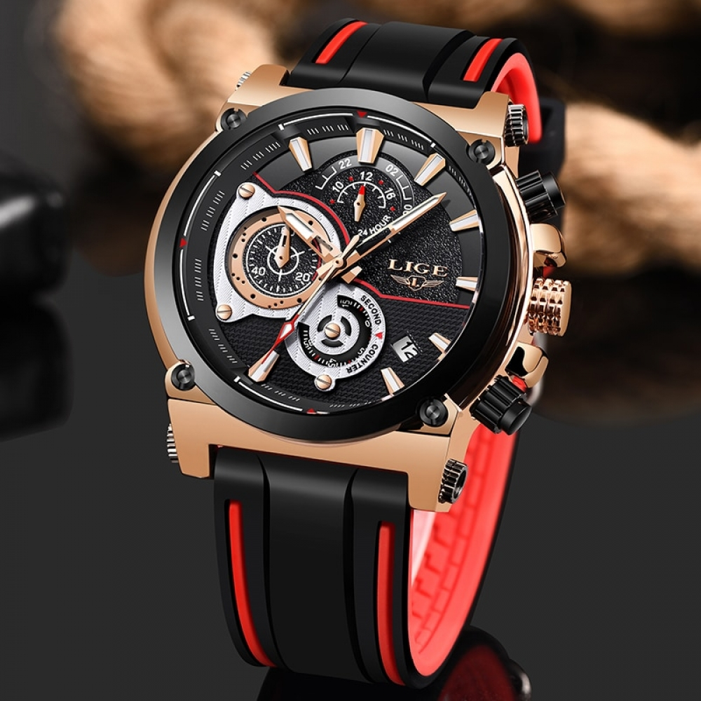 Watches Top Brand Luxury Business Men Date Chronograph #jacket #cool