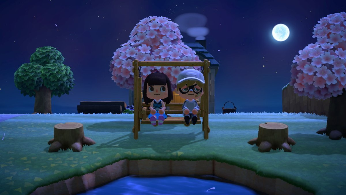Stargazing date! #AnimalCrossing #ACNH #NintendoSwitchpic.twitter.com/T3PD7UZckQ
