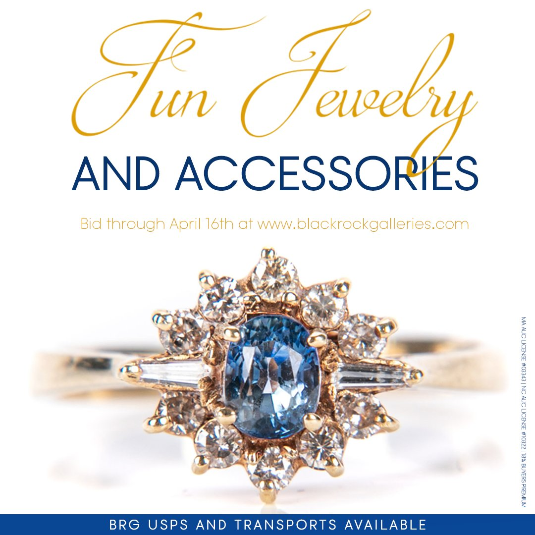 Check out this Fun Jewelry & Accessories #onlineauction - https://mailchi.mp/b53afe35735f/currentauctions100318-975313…  Assortment of fine & costume #jewelry + #fashionaccessories & #smalls. Something 4 every style, taste & budget. USPS shipping available. #Happybidding #brgstyle #blackrockgalleriespic.twitter.com/UBFqdgkFky