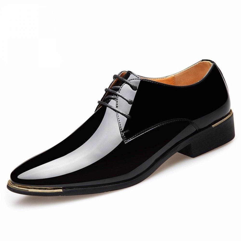 Men's Quality Patent Leather Shoes #cart #freeshipping #iceshopy #insta #instadaily #instagood #instalike #leather #Man #Shoe #shoes #shop #shopping