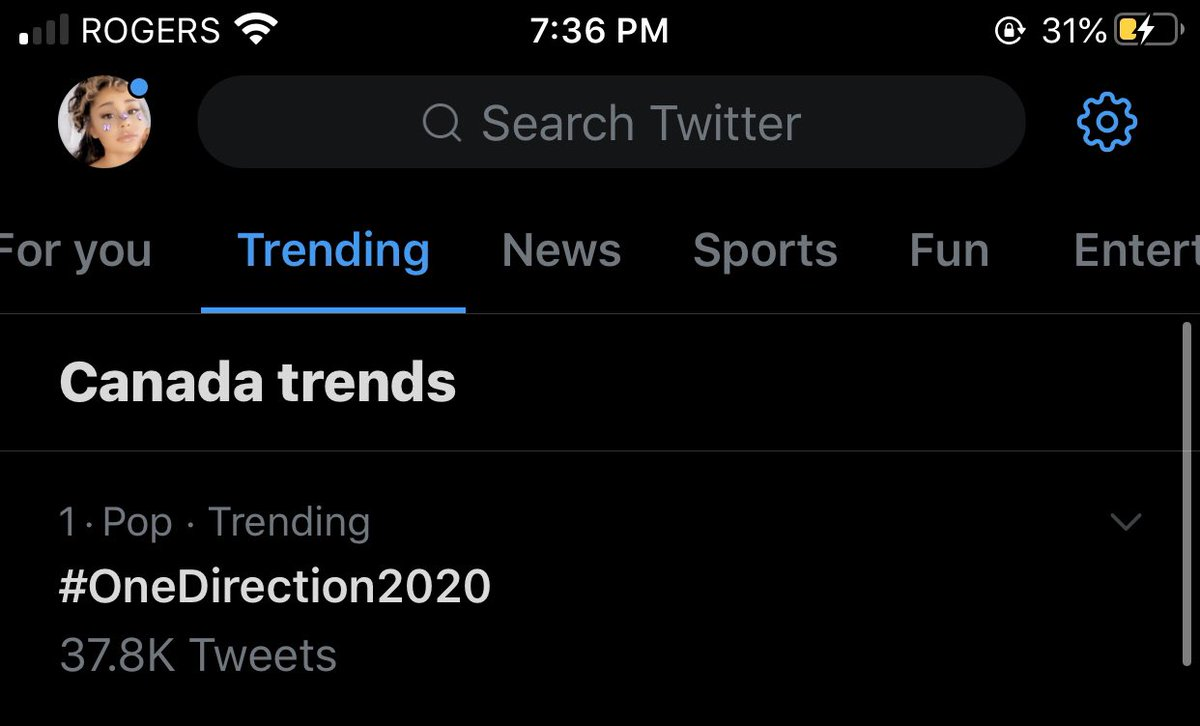 WE'RE NUMBER ONE IN CANADA LETS GOOOOO #ONEDIRECTION2020