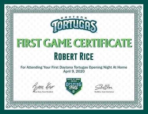 Last night was suppose to be opening night however unfortunately we had to have #OpeningDayAtHome but what I saw was how great this community and organization came together as a family. We will have baseball again this year and I know that I'll be there #ForThe386