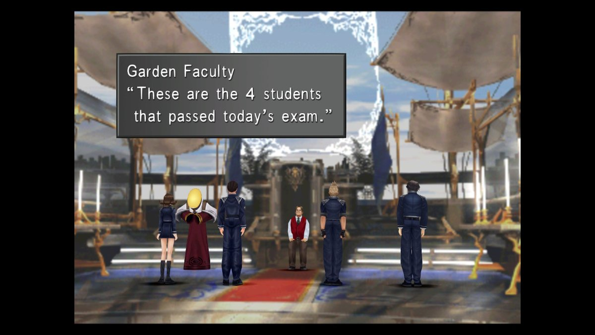 And, as per Garden law, the Headmaster has the right of the first night with you. I get the second. #FFVIII #NintendoSwitchpic.twitter.com/qarGhnjgdr