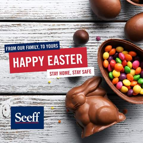 Easter is a time for #family , togetherness and reflection. In the midst of the national lock-down families have been brought closer #together than ever.  Our wish this #Easter is for every person to have a peaceful & restful weekend. So from our family to yours, HAPPY EASTER!
