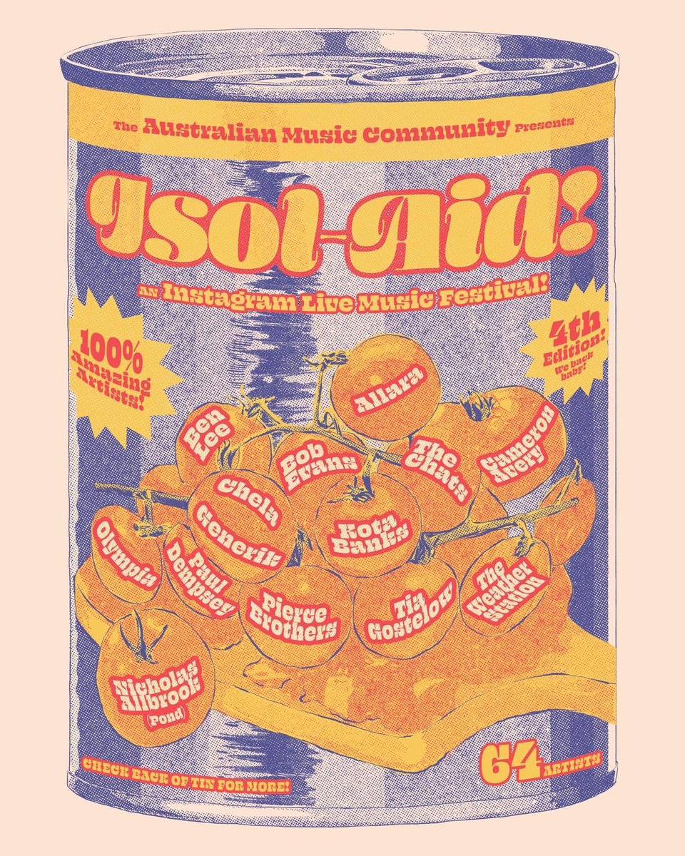 Supporting #Australian #musicians and music industry workers. #isolaidfestivalpic.twitter.com/7fnwOIfhGT