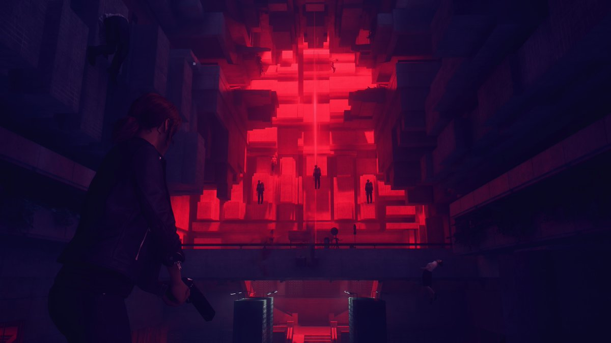 Control is already one of my favorite games ever because of the storytelling, the combat, the exploration, and the general world it's set in, but it really can't be said enough how fantastic the art design is.  I want to recommend this game to everyone into weird fiction like me. pic.twitter.com/Hb0iuE3Jin