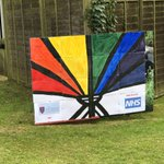 Thanks to the Bromwich family for this lovely rainbow to show our support for the #NHSheroes using an adaptation of our Beacon symbol. You can see it outside our school gates on Brittains Lane, Sevenoaks.  #NHSThankYou #NHSCovidHeroes #FridayMotivation #InThisTogether