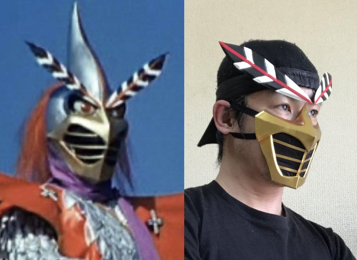 """いぬい はじめ on Twitter: """"【変身忍者 嵐】マスク まだまだマスク ..."""