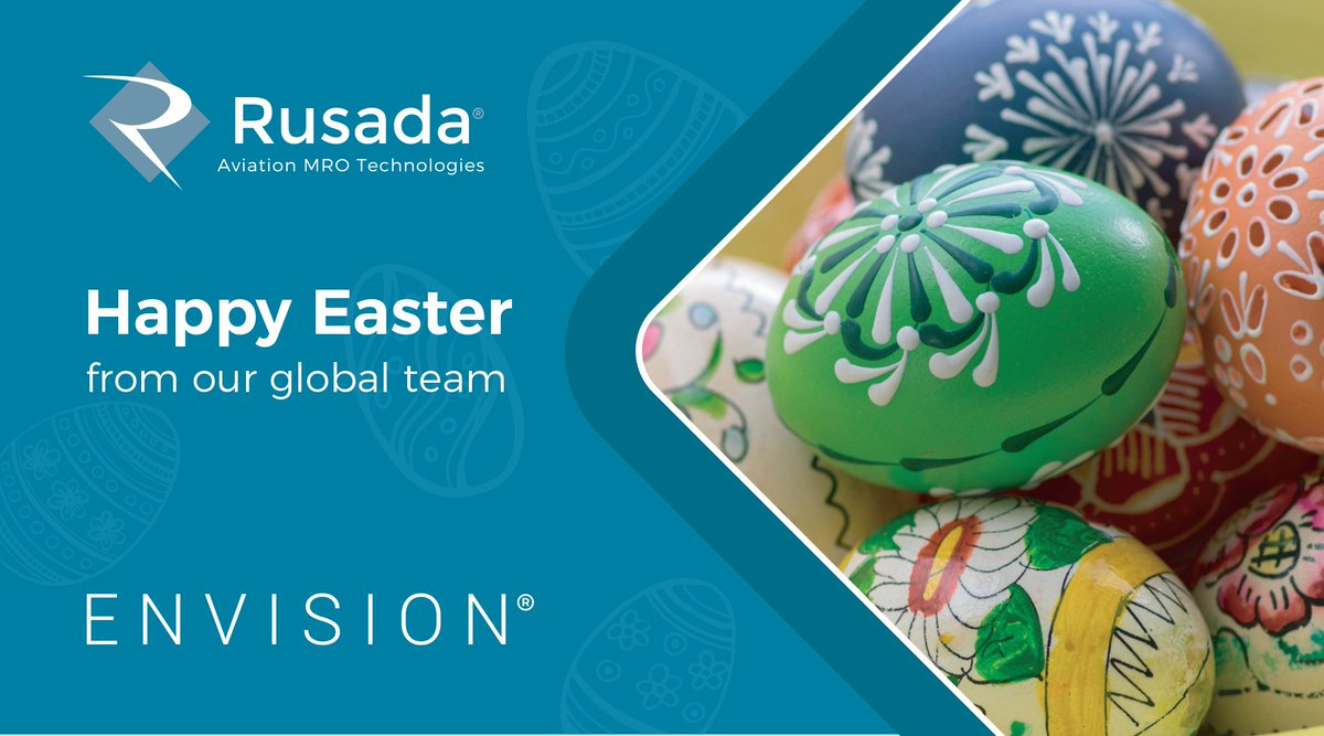 Happy Easter from everyone at Rusada!  We hope that even in these strange times you have yourselves a wonderful weekend. #EasterAtHome