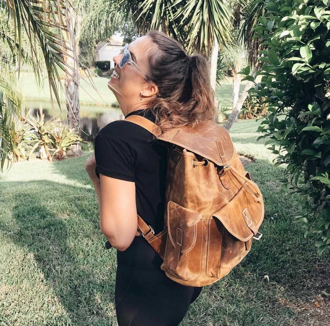 Leather Hiking Backpack  https://highonleather.com/collections/brown-leather-backpack/products/leather-hiking-backpack …  #travelbag #travelbook #travellers #travelblogger #travelgram #travel #traveling #naturepic.twitter.com/H3lqUAyyF3