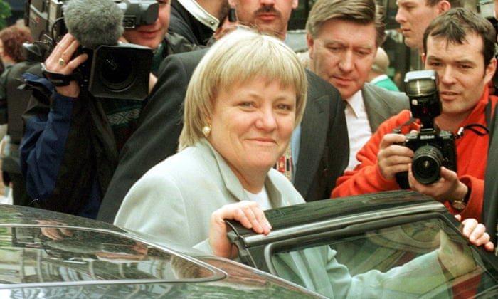 Mo Mowlam told the press:  'I am very happy for the people of Northern Ireland, who I believe will now have the opportunity to build a peaceful future for themselves'. https://t.co/R6K0O4c29G