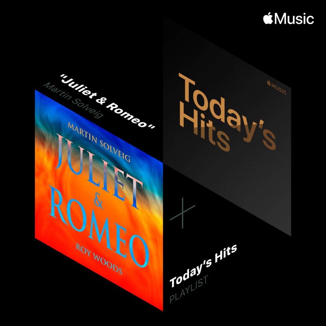 "Thanks @AppleMusic for making ""Juliet & Romeo"" their Hottest Song 🙏🏻🧡"
