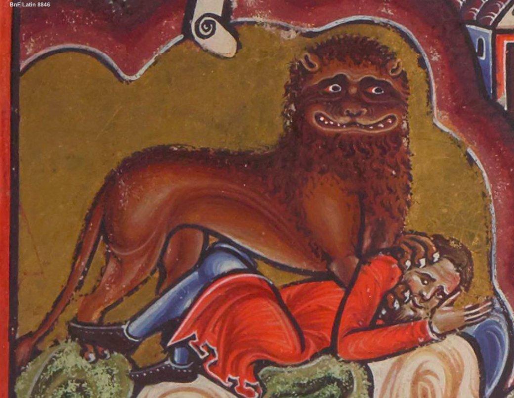 Psalterium Cantuariense, Hieronymus, 4th Century CE