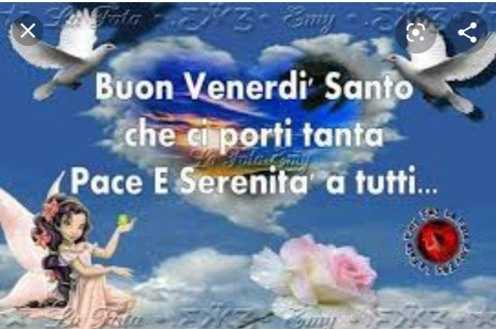 Carla On Twitter Serena Giornata Marisa Buon Venerdi Santo
