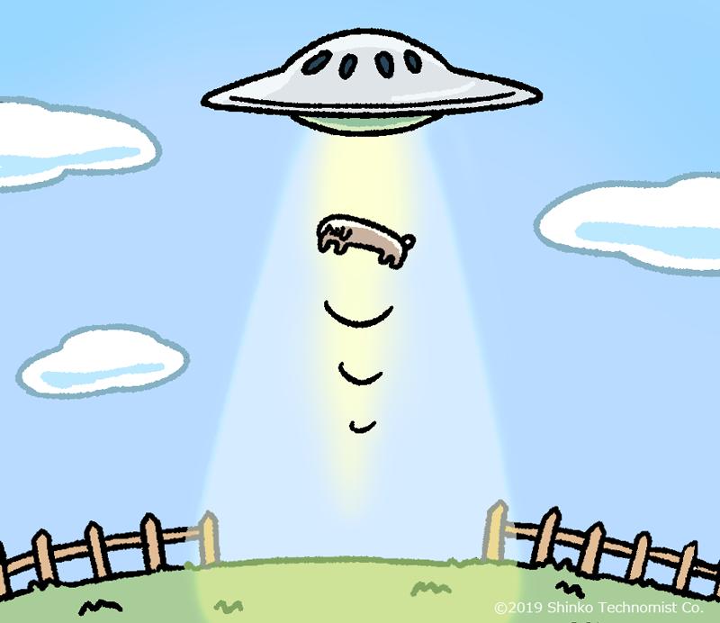 宇宙へドナドナ…