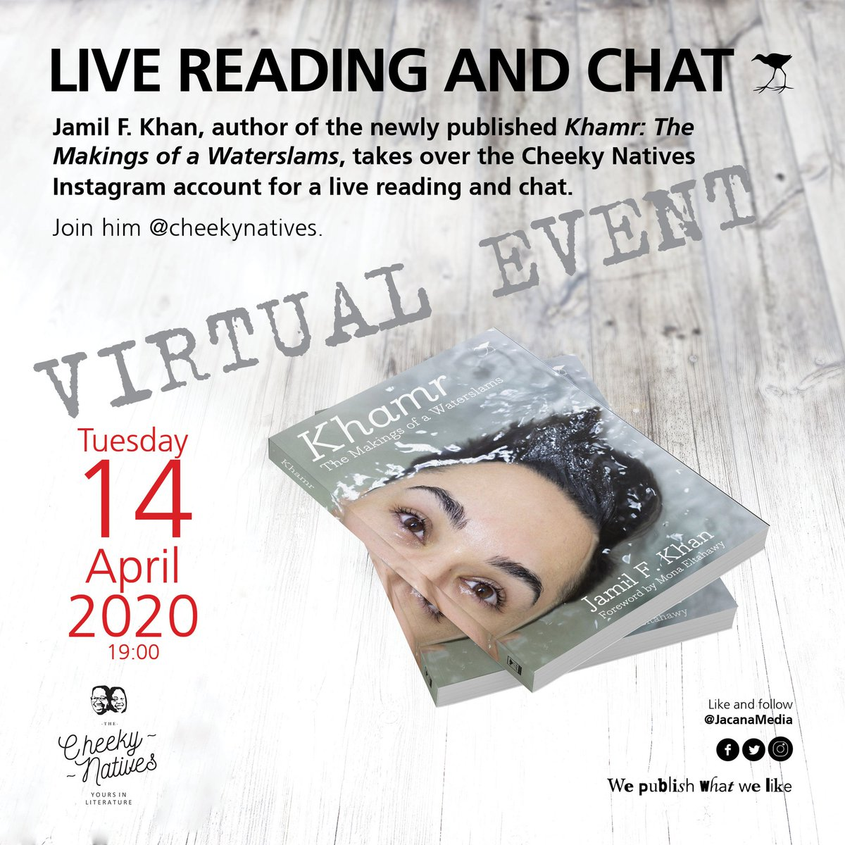 """FB: Jacana Media on Twitter: """"Join us for the virtual launch of ..."""