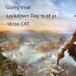 Image for the Tweet beginning: Going Viral! Lockdown Day 15
