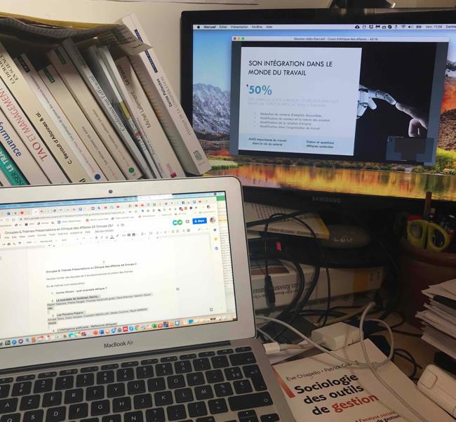 Le télétravail,  pratique courante en cette période de confinement Quels repères et outils déployer pour bien le vivre et nous rendre performants ? Rédigé par @PascalePAYAN avec témoignages @MINES_StEtienne @ECAMLyon @igsRH @inseec_bs @EMLYON.  https://t.co/lLD0ORqKzD https://t.co/QXQTxcP3FH