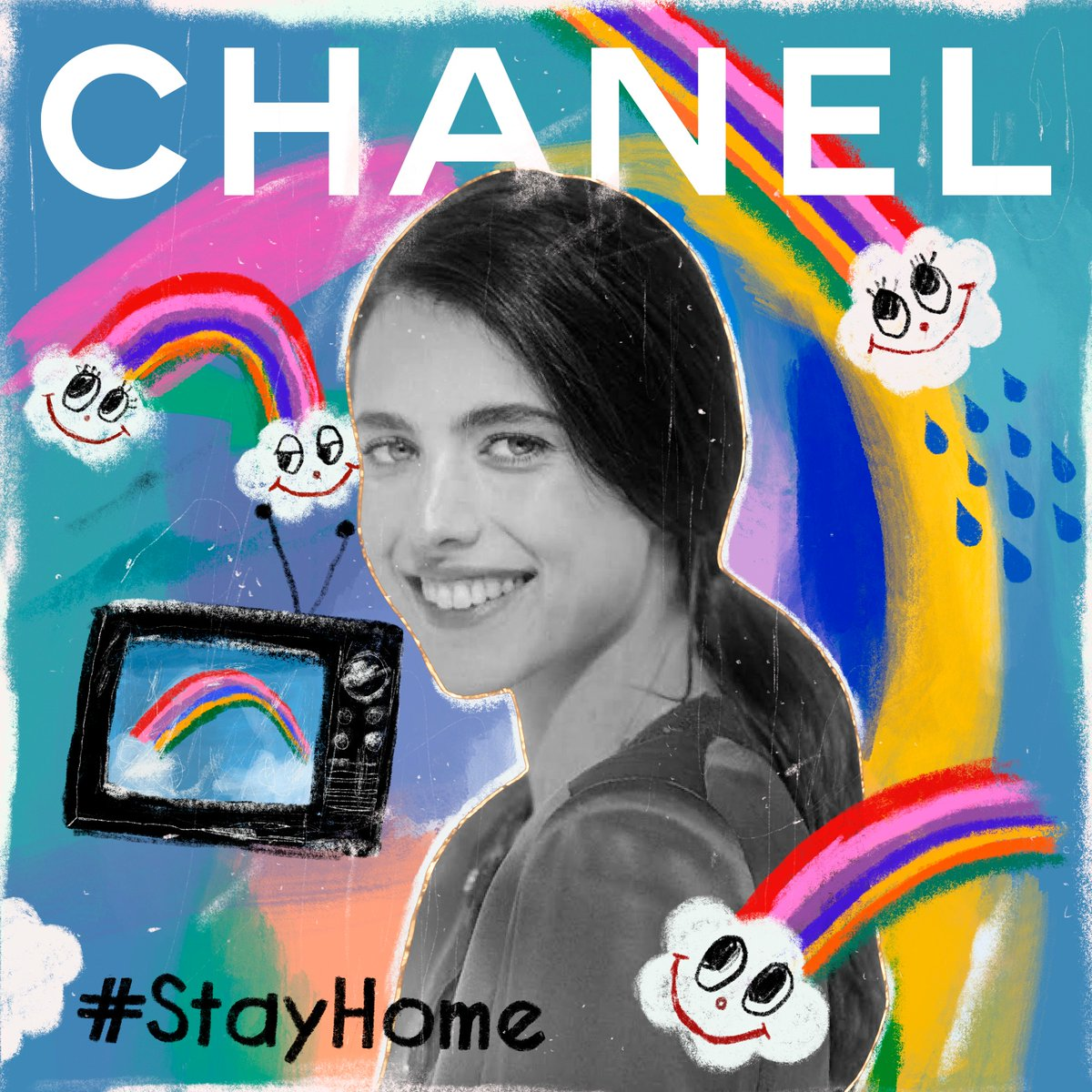 Margaret Qualley selected some of her favourite tracks in a new playlist for CHANEL on Apple Music. https://t.co/3nQ663zNQc #TheSoundofCHANEL  @AppleMusic https://t.co/WEbjZEjMgx