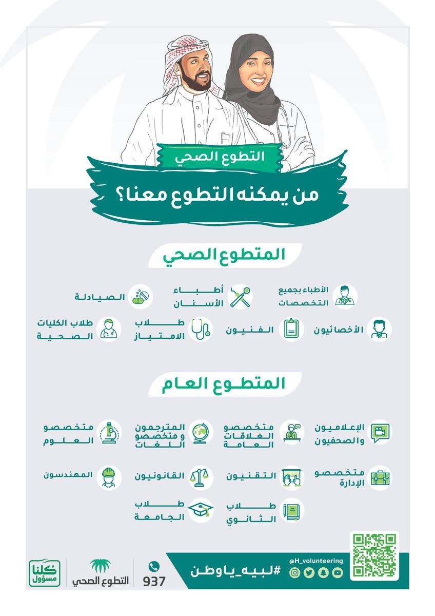 منصة التطوع الصحي http volunteer srca org sa
