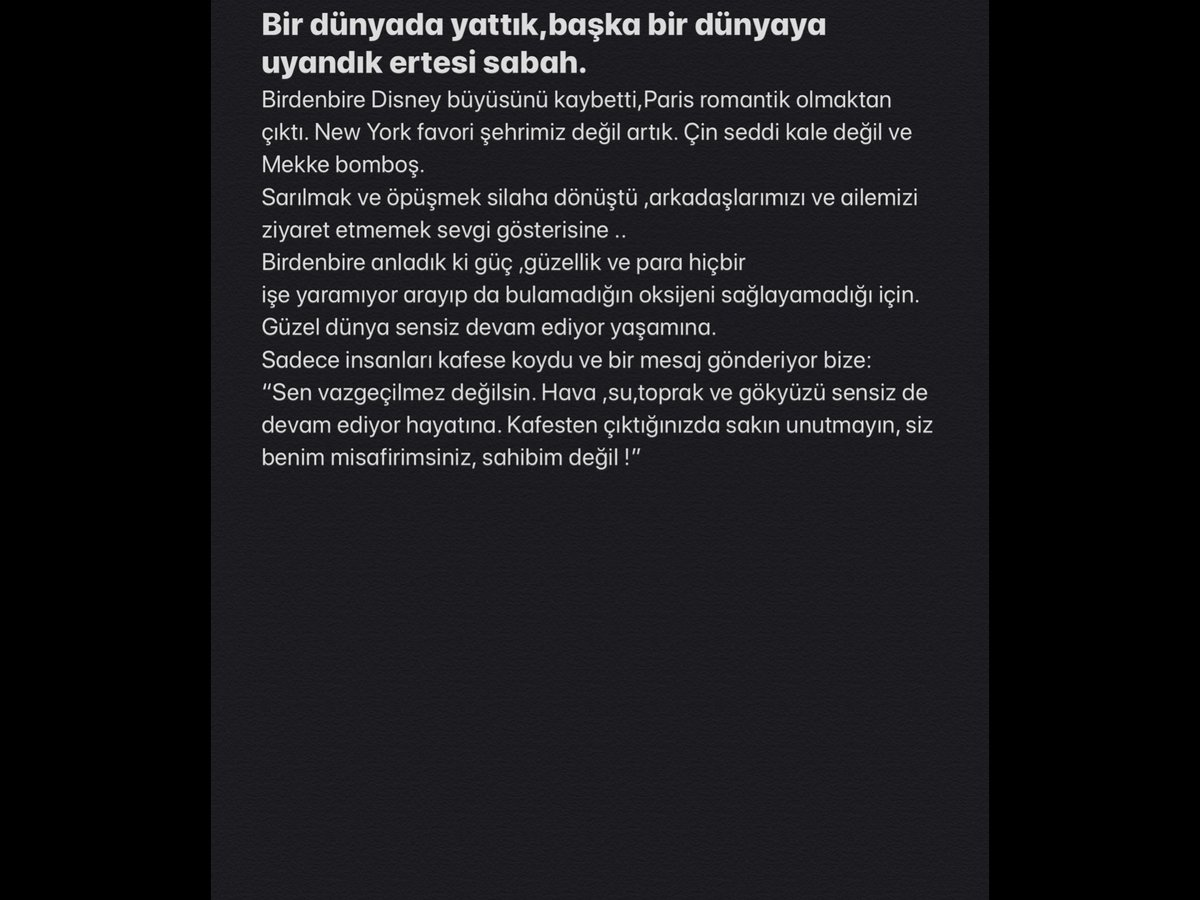 Bu da Türkçesi :