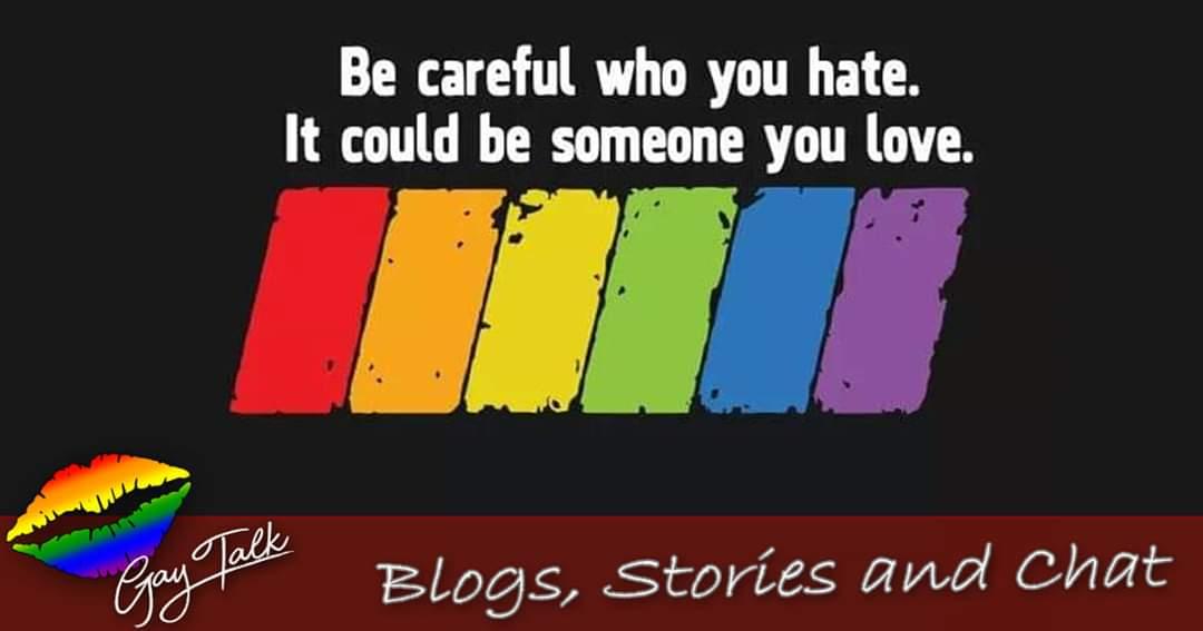 Someone you know is gay. Maybe even someone you love.   Think before you speak hate.  #gaytalk #gay #gayboyfriendcouple #gaypeople #gaydutchies #gayboy #gayfriendship #gaytalknet #gaynetherlands #gayphilippines #gayus #gayuk #gaylike4like https://t.co/i56zBoNaBZ